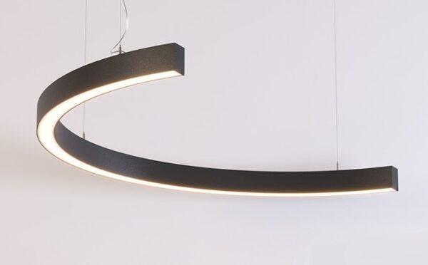Дизайнерский подвесной светодиодный светильник Wp Half ring