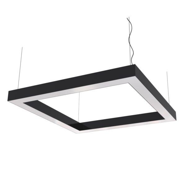Дизайнерский подвесной светодиодный светильник Wp Сuadra Hole 02