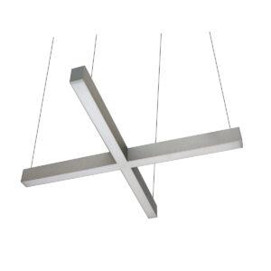 Светильник светодиодный профильный подвесной Wp Cross 01