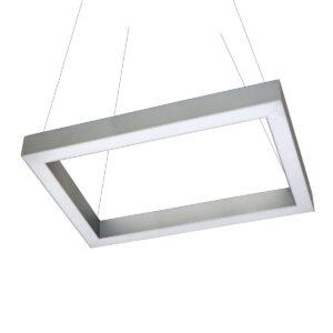 Дизайнерский подвесной светодиодный профильный светильник Wp Cuadra 02 profile