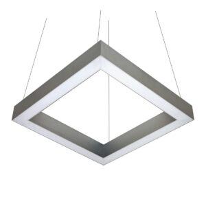 Светильник светодиодный профильный подвесной Wp Cube