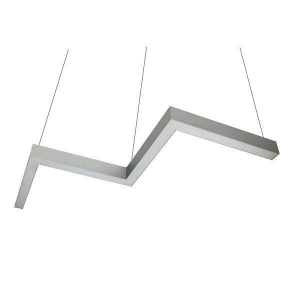 Дизайнерский подвесной светодиодный профильный светильник WP Snake 01
