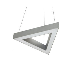 Дизайнерский подвесной светодиодный профильный светильник Wp Trigon 02 profile