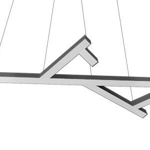 Дизайнерский подвесной светодиодный профильный светильник Wp legno 1080