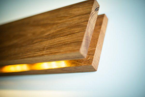 Бра деревянный светильник WP SC Cuadra 01
