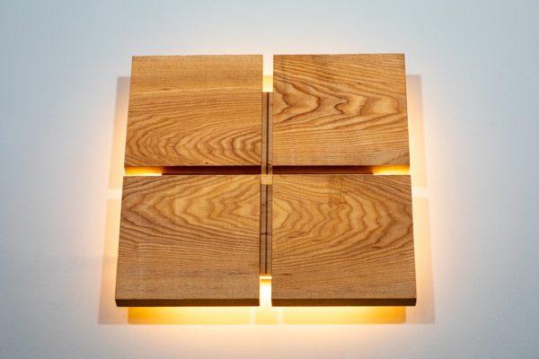 Бра деревянный светильник WP SC 4 slices