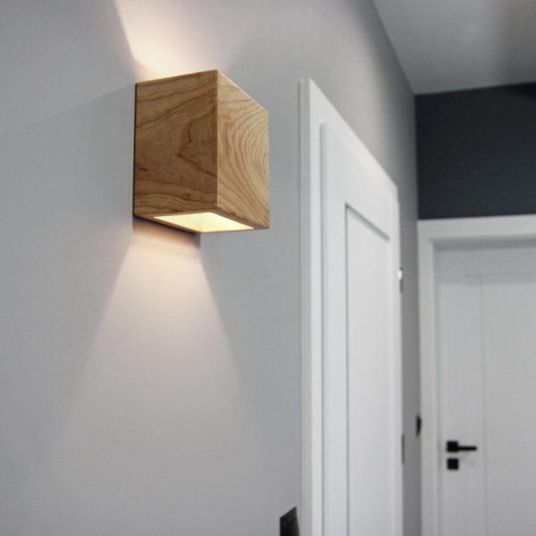 Бра деревянный светильник WP SC cuadra 15