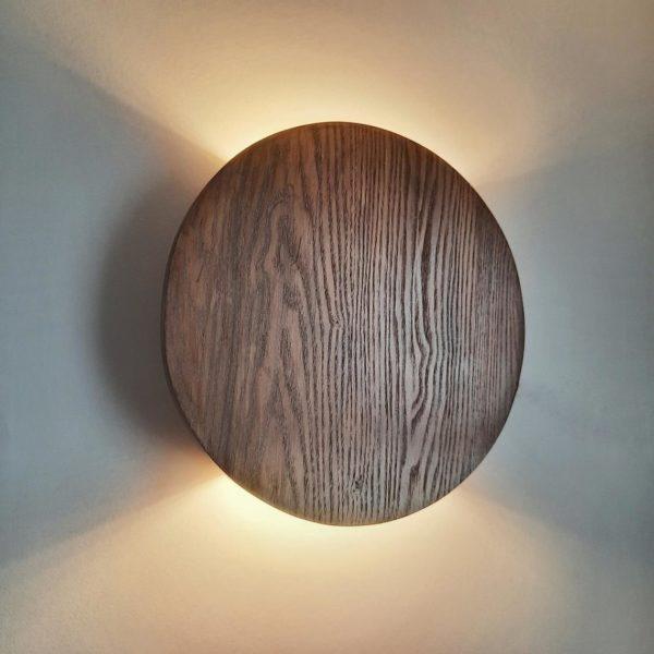 Круглый деревянный бра WP SC RING
