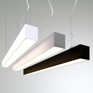 Подвесной светодиодный профильный светильник WP7676