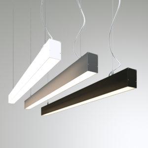 Подвесной светодиодный профильный светильник WP5075