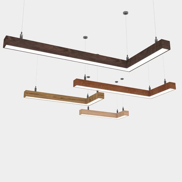 Линейный светильник WPL 225 ANGLE L