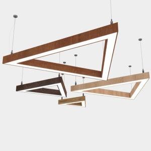 Линейный светильник WPL 228 trigon
