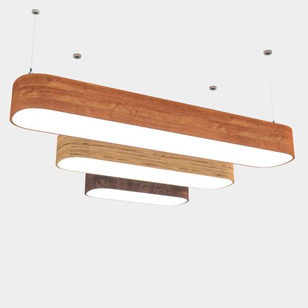 Линейный светильник WPL 224 ovale